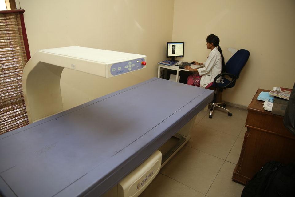 dexa scan machine